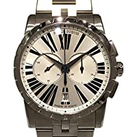 ロジェ・デュブイ エクスカリバー マイクロローター クロノグラフオートマティック RDDBEX0451 シルバー メンズ 腕時計 [並行輸入品]