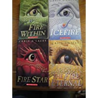 4 Books: Last Dragon Chronicles Series Set - The Fire Within Icefire Fire Star Fire Eternal (Last Dragon Chronicles Set Series Collection Vol. 1 2 3 4)