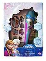 Frozen Sparkling Ice Light Up Melody Microphone by Disney