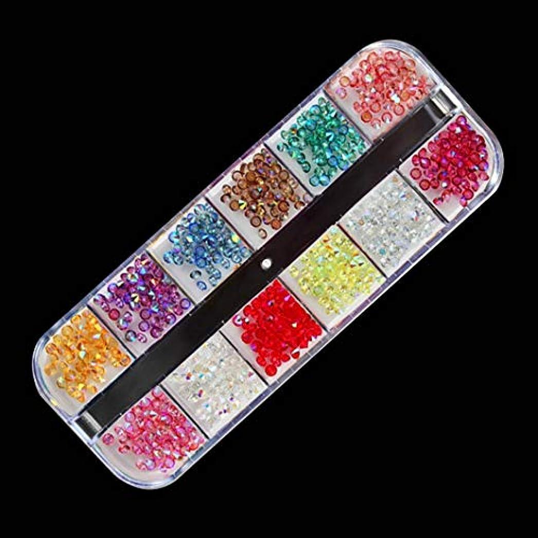 財布バーガー妖精OU-Kunmlef プロのネイルアートの装飾スパンコールラインストーングリッタークリスタル宝石キャビア弓スノーフレークアクリルゲルUV 3 Dヒントマニキュア(None M7)