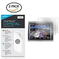 Garmin GPSMAP 7215スクリーンプロテクター、傷からBoxWave [ ClearTouchクリスタル( 2- Pack ) ] HDフィルムスキン–シールドfor Garmin GPSMAP 7215