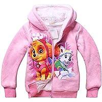 PCLOUD Cute Dog Girls' Hoodies Coat Jacket Fleece Warm Winter Outwear