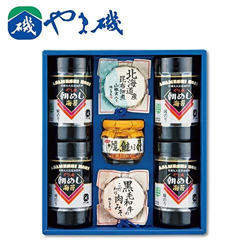 やま磯 味海苔・瓶詰め詰合せ 大磯-30B【栄養 うまい 縁起物 おつまみ 美味しい おやつ おにぎり おかず 海藻 缶 キャラ弁 健康 高級 】