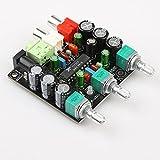 Newone Mini BBE XR1075 トーン調整モジュールDC 10-26V / AC 9-20V電源ベース/トレブル/ボリュームコントロール2チャンネルCDコンピュータ用MP3 MP3 MP4 DIYなど (B)