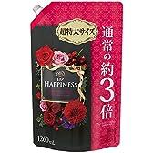 【大容量】 レノア ハピネス 柔軟剤 ダークローズ&チェリー 詰替用 超特大サイズ 1260ml