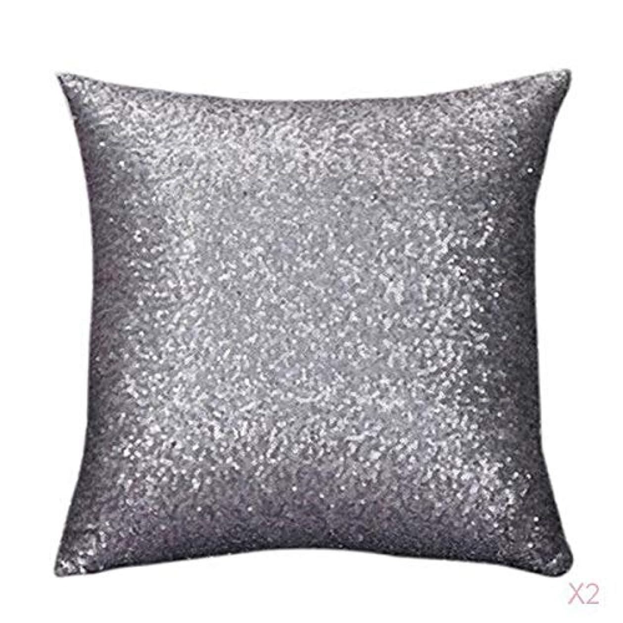 ヒューズパンツレガシーファンシースパンコールソファスクエア枕クッションカバーケースは、ホームインテリアグレーを投げます