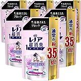 【ケース販売】レノア 超消臭1WEEK 柔軟剤 SPORTSデオX リフレッシュエアリーフローラル 詰め替え 約3.5倍(1390mL)×6袋