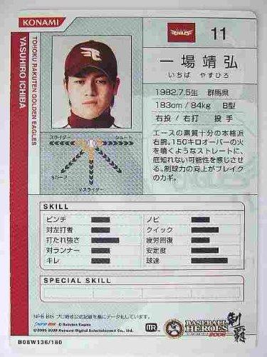 BBH2008 白カード 一場 靖弘(楽天)