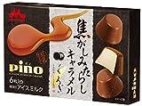 【アイスクリーム】森永乳業 ピノ 焦がしみたらしキャラメル 60ml(10ml×6粒)X24箱
