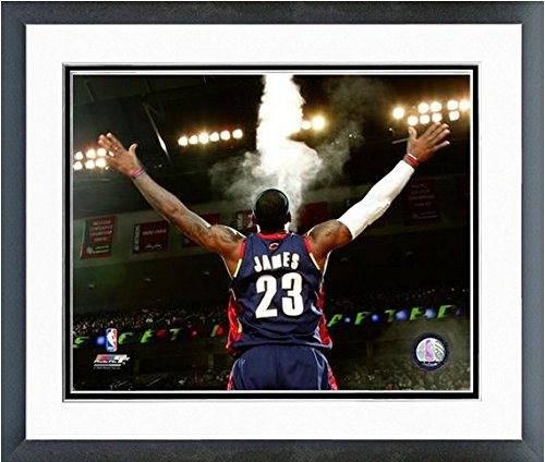 Lebron James Cleveland Cavaliers Nbaアクション写真(サイズ: 12.5CM x 15.5CM )フレーム