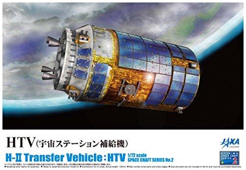 青島文化教材社 1/72 スペースクラフトシリーズ No.2 HTV 宇宙ス...