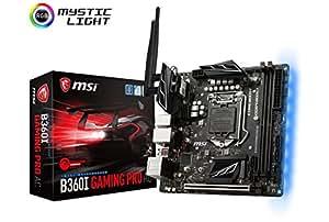 MSI B360I GAMING PRO AC Mini-ITX ゲーミングマザーボード [Intel B360チップセット搭載] MB4368