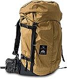 [サードアイチャクラ] バックパック 「The Backpack#001」登山リュック 大容量40L Handmade ネパール製 ブラウン