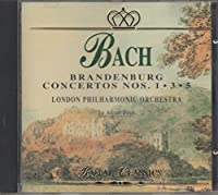 Bach;Brandenburg Cons.1,3,5
