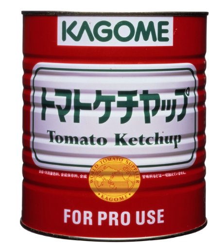 カゴメ トマトケチャップ 特級 1号缶 3330g