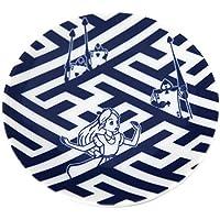 和柄風 丸型 醤油皿 ( 不思議の国の アリス ) トランプ兵 小皿 お 皿 おてしょ 和 食器 しょうゆ皿 ( リゾート限定 お土産 ) alice in wonderland