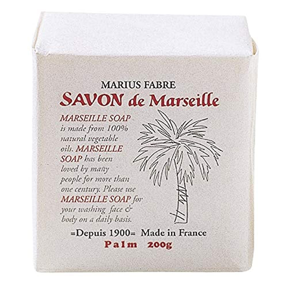 うま有能なパイプラインサボンドマルセイユ 無香料 パーム 200g