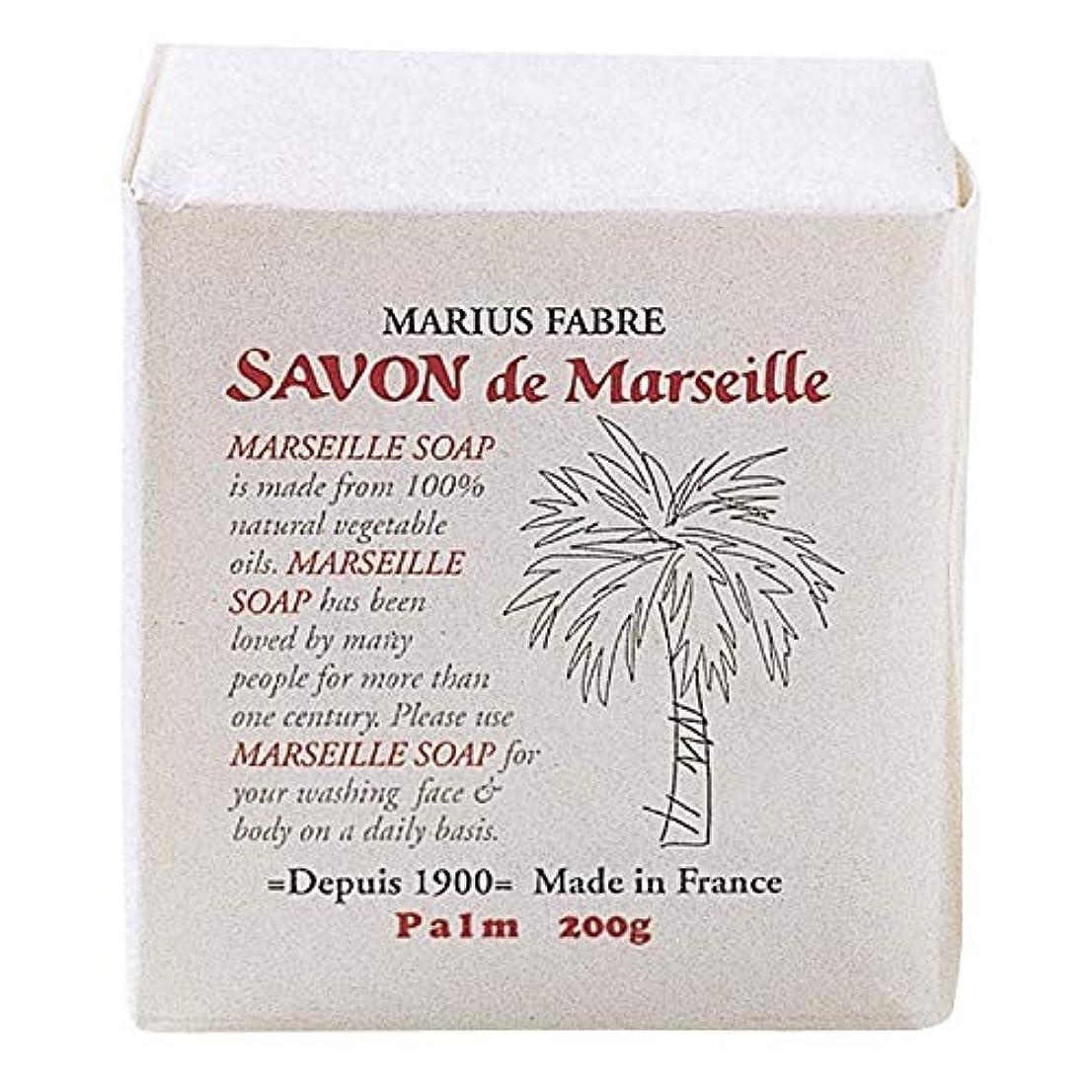 晩餐襟リーダーシップサボンドマルセイユ 無香料 パーム 200g