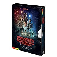 Stranger Things 正規品 1シートポスター A5 VHSプレミアムハードバックジャーナルノートパッド