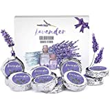 Colorfarm Aromatherapy Shower Steamers- Set of 12X Shower Tablets 480g with Lavender Essential Oils, Relaxation Gift for Wome