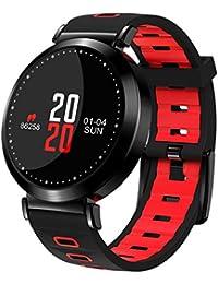 スマートウォッチ スマート腕時計 フィットネストラック 活動量計 心拍計 血圧計 血液酸素計 歩数計/カロリー計測 睡眠検測 アプリ電話通知/LINEサポート Bluetooth IOS Android対応 [並行輸入品]