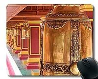 賭博のマウスパッド、仏の探求、教授の概念、ステッチされた端が付いている仏教のマウスパッド
