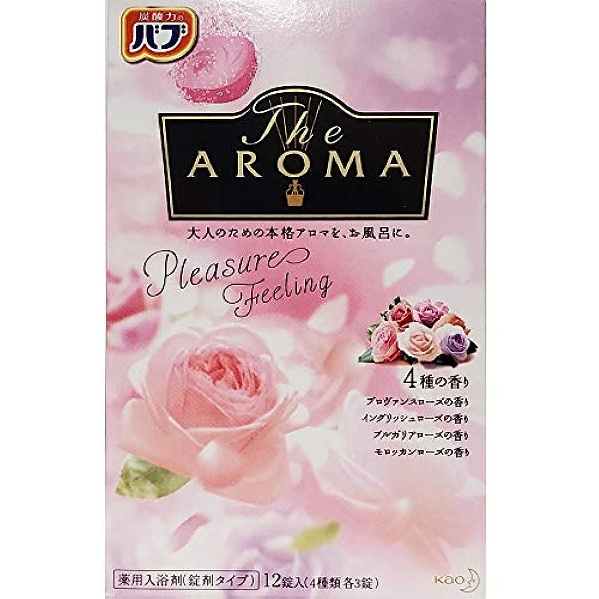 書き込みシャイかび臭いバブ The Aroma Pleasure Feeling 40g×12錠(4種類 各3錠) 医薬部外品