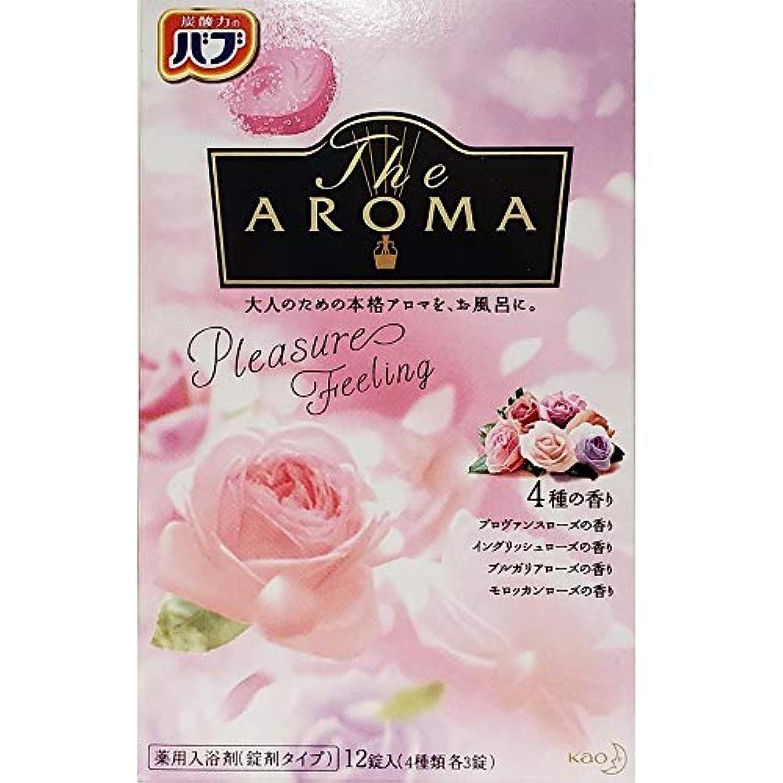 スラック肝花弁バブ The Aroma Pleasure Feeling 40g×12錠(4種類 各3錠) 医薬部外品