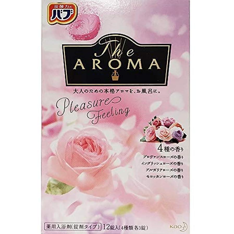 乙女長さ失敗バブ The Aroma Pleasure Feeling 40g×12錠(4種類 各3錠) 医薬部外品