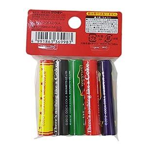 サカモト 鉛筆キャップ5本セット コカ・コーラMIX