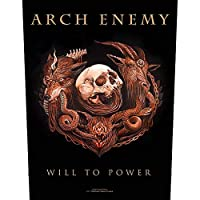 Arch Enemy(アーチ・エネミー) Will To Power Back Patch 特大バックパッチ 縫いつけパッチ/ワッペン