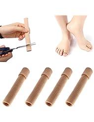 足指保護キャップ 母趾 サポーター 足指クッション まめ ささくれ巻き爪 つま先用インソール メンズ レディーズ用 痛みをやわらゲル伸縮 柔軟 つま先サポーター