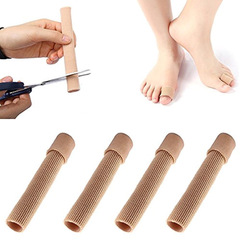 公然とこれら闇足指保護キャップ 母趾 サポーター 足指クッション まめ ささくれ巻き爪 つま先用インソール メンズ レディーズ用 痛みをやわらゲル伸縮 柔軟 つま先サポーター