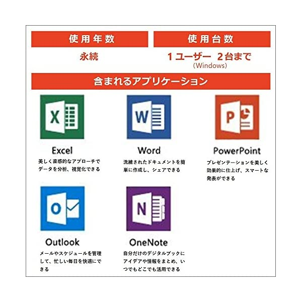 Microsoft Office Home a...の紹介画像3