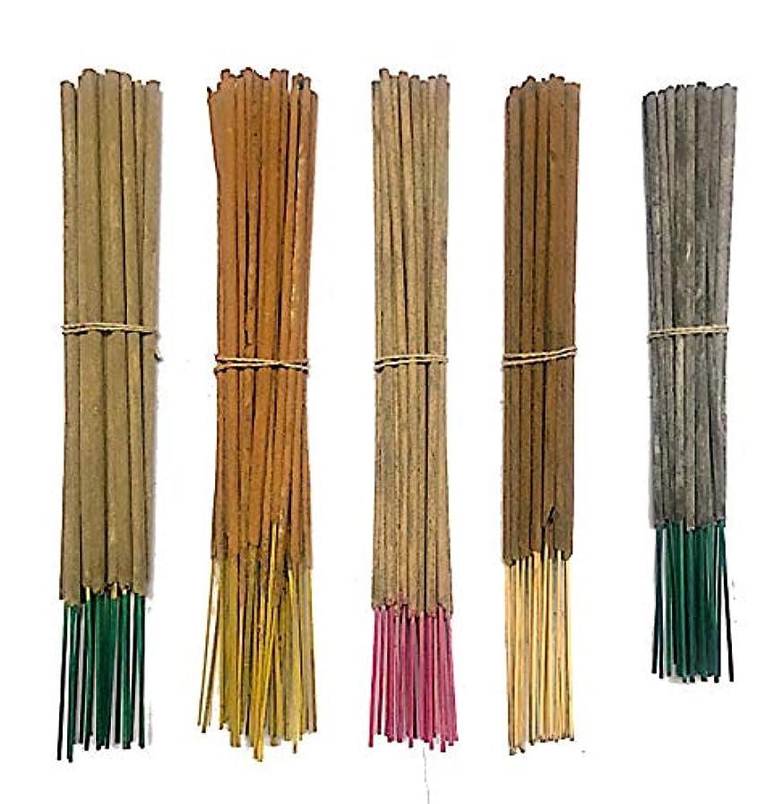 オーナメント承認辞任Inaki Incense Sticksプレミアム5 Fragrance Infused with Essential Oilsパック40 gm各 – Natural長持ちホーム&インドアFragrance (200グラムパック)