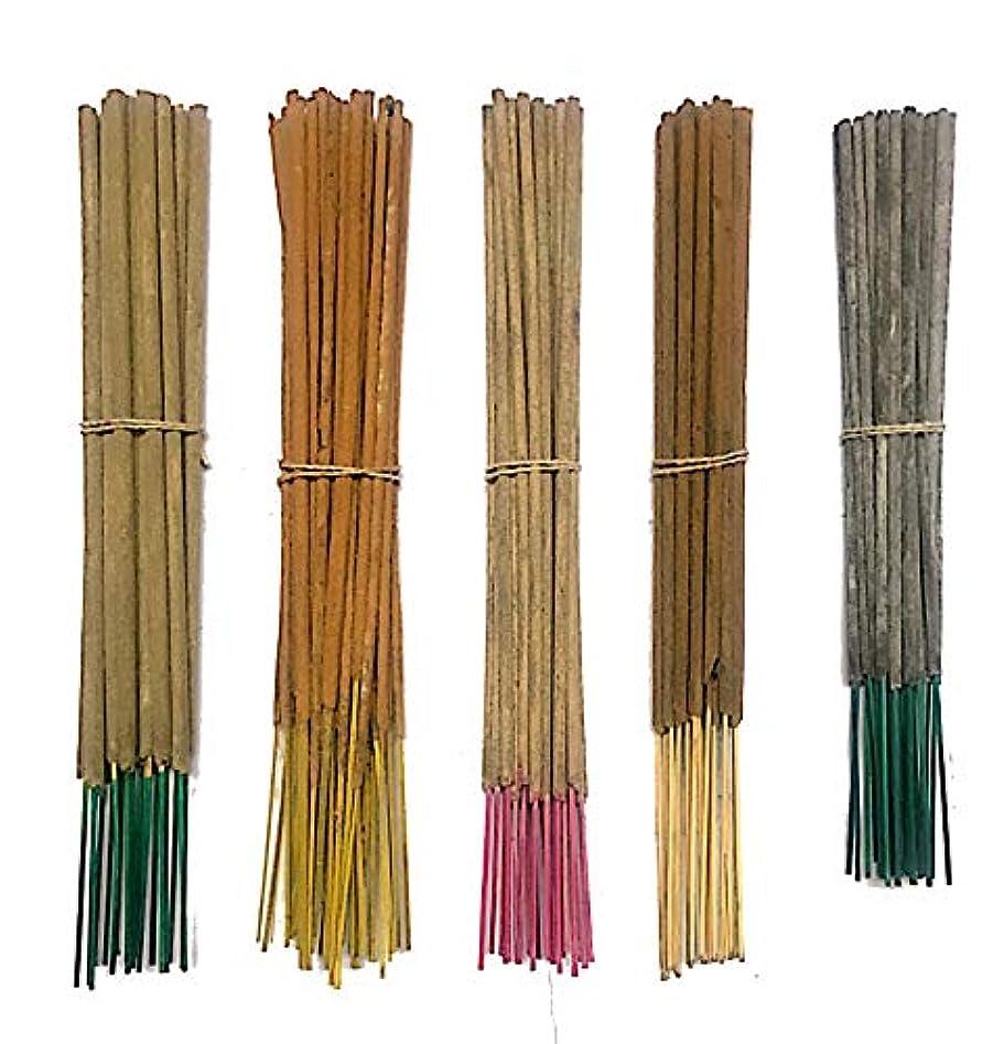 推測する寛大さプロフィールInaki Incense Sticksプレミアム5 Fragrance Infused with Essential Oilsパック40 gm各 – Natural長持ちホーム&インドアFragrance (200グラムパック)