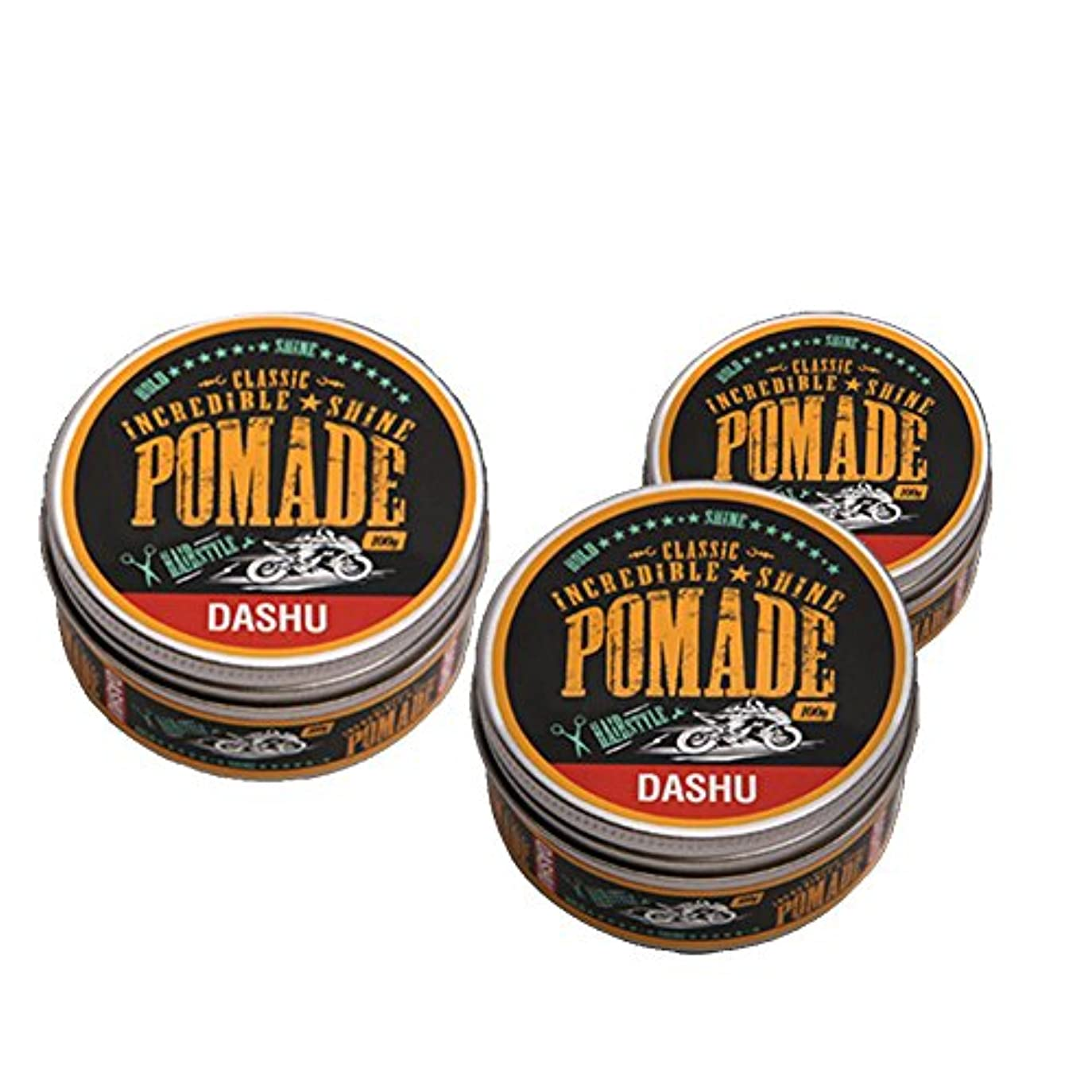 面積パッケージディレイ(3個セット) x [DASHU] ダシュ クラシック 信じられないほどの輝き ポマードワックス Classic Incredible Shine Pomade Hair Wax 100ml / 韓国製 . 韓国直送品