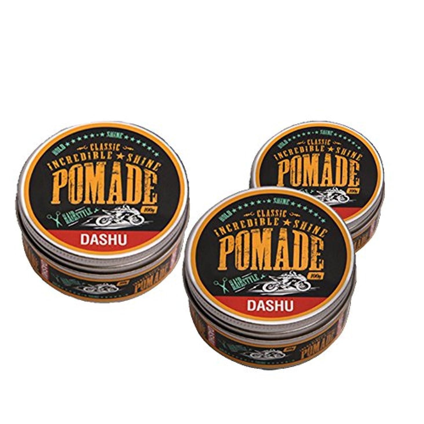 ショートカットニュージーランド薬理学(3個セット) x [DASHU] ダシュ クラシック 信じられないほどの輝き ポマードワックス Classic Incredible Shine Pomade Hair Wax 100ml / 韓国製 . 韓国直送品