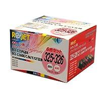 CANON ( キヤノン ) リサイクル インクカートリッジ BCI-325・326 シリーズBOX (BCI-325PGBK・326(BK・C・M・Y・GY)/6色BOX)