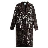 (プラダ) Prada レディース アウター コート Herringbone-print cotton coat [並行輸入品]