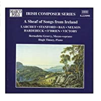 A Sheaf of Songs from Ireland by Bernadette Greevy (2006-08-01)