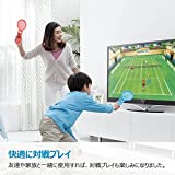ELTD マリオテニスエース用switch Joy-Conハンドル  2個セッット テニスゲームの臨場感  任天堂 switchマリオカート専用