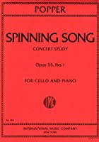POPPER - Spinning Song Op.55 nコ 1 para Violoncello y Piano