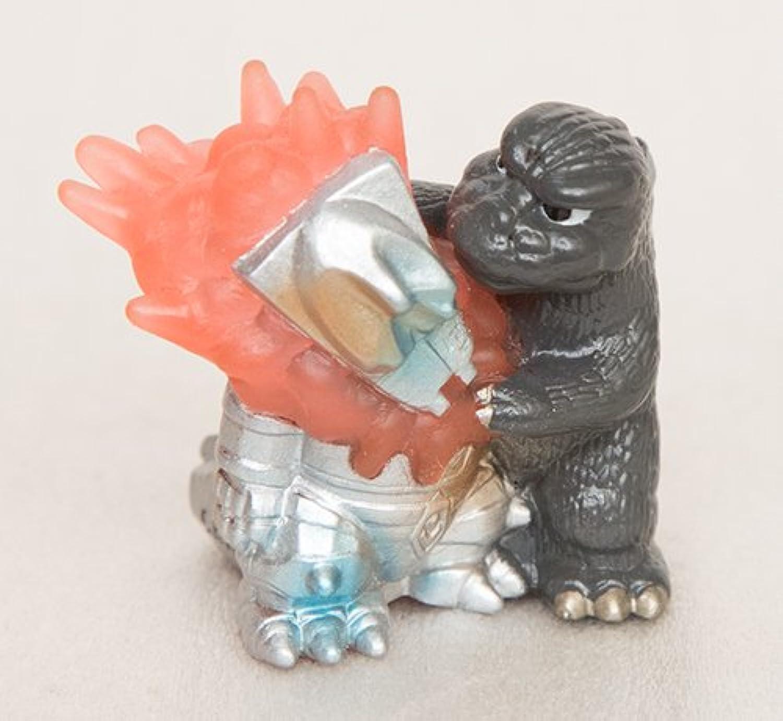 怪獣王倶楽部 ゴジラとメカゴジラ1974 指人形ソフビ