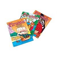 Pirate Coloring Books (12 Pack) by US TOY GROUP LLC [並行輸入品]