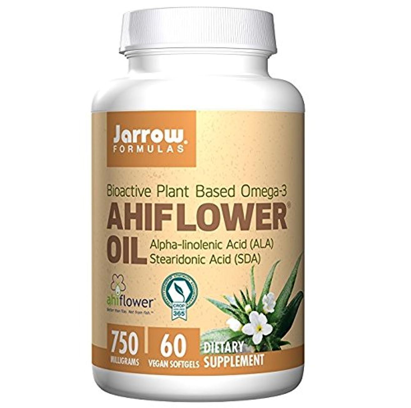 唯物論明確な適合しました【海外直送品】Jarrow Formulas - Ahiflower Oil - 60ソフトジェル アヒフラワー