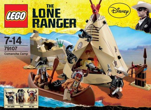 レゴ ローンレンジャー コマンチ族のキャンプ 79107