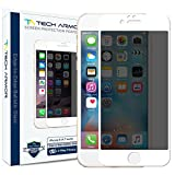 Tech Armor iPhone6s / iPhone6 ガラスフィルム Edge to Edge Privacy 4.7インチ ホワイト
