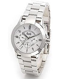 Dolce&Gabbana (ドルチェ&ガッバーナ)  D&G ドルガバ メンズ 腕時計 TEXAS(テキサス) シルバー DW0538 [並行輸入品]
