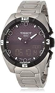 [ティソ]TISSOT 腕時計 T-Touch Expert Solar(ティータッチ エキスパート ソーラー) T0914204405100 メンズ 【正規輸入品】